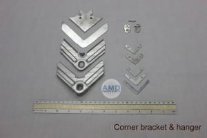 corner bracket & hanger